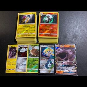 100+ Pokemon Cards! Holos, Rares & GX Ultra Rare